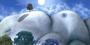 Fleischige Landschaft IV
